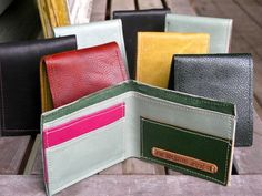 A classic and useful make for men - and when you make your own wallet, you can make it exactly how you like it.
