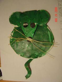 Souris verte Petite Section, Canson, Plant Leaves, Kindergarten, Ps, Learning, Illustration, Plants, Animals
