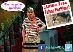 Al ser cuestionado por los Falsos Positivos, Álvaro Uribe Vélez - Oficial  no tiene respuestas... #PilasColombia