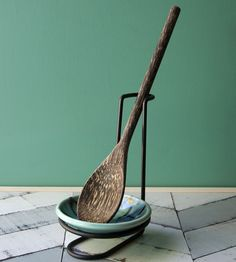 Porcelain Spoon Rest & Stand
