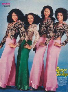 Sister Sledge c 1970's