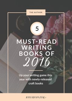 You already know and love craft books like On Writing and Bird by Bird. Now up your writing game with craft books that release in 2016. Many of these picks just hit shelves!