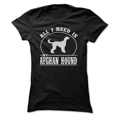 ALL I NEED ① IS MY AFGHAN HOUND T SHIRTSAFGHAN HOUND, ALL I NEED IS MY AFGHAN HOUND T SHIRTS, AFGHAN HOUNDS, AFGHAN HOUND LOVERS, I LOVE AFGHAN HOUND, DOG, DOGS