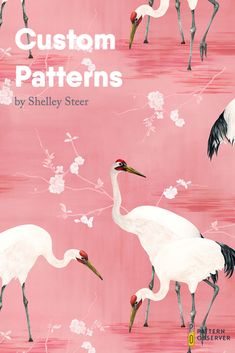 In this post we feature the stunning textile and pattern designs created by Shelley Steer. She specializes in painted illustrations of animals, plants and nature scenes. See more of her artwork in this post. Surface Pattern Design, Pattern Designs, Get My First Job, Louise Jones, Study Interior Design, Reference Images, Nature Scenes, Textile Design, How To Draw Hands