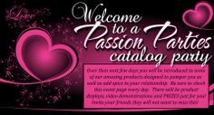 Don't want to have a party at your place? Collect orders or get your girlfriends together for a Catalog or Facebook Passion Party! contact me today to book an in home or facebook party. Jenni Hughes 515.210.2192 or visit my website to order www.pleasureismypassion.com