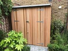 Some images of installed bike sheds, fromthe Classic to the bespoke. Classic Classic 3-bike. Green roof and larch cladding Classic 2-bike. Green roof and pin