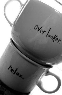 A sharpie + A plain mug = uniqueness.