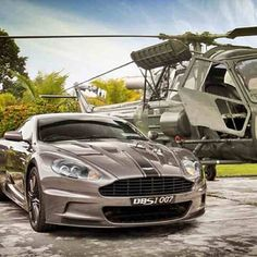 stunning 007 ASTON MARTIN DBS - British pride