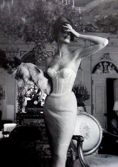 Triumph Lingerie ad campaign, circa 1950's  Photographer: Jerry Plucer-Sarna