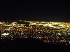 the view from Franklin Mountain in El Paso, TX My first husband and I were headed up Transmoutain Road to see the view when he was killed by a drunk driver. The view is gorgeous, but has a totally different feel for me now.