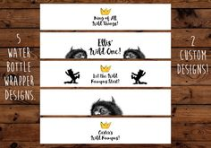 Printable Where The Wild Things Are Water by BeHereNowDesign