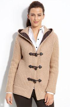 Hooded Sweater jacket