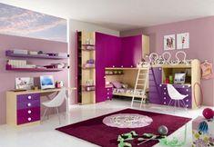 #poshkidspaces #kids #design #decor #girls #boys #room #ideas Kids Bedroom Designs, Kids Room Design, Modern Kids Bedroom, Kids Bedroom Furniture, Room Ideas Bedroom, Purple Furniture, Girls Bedroom, Bedroom Decor, Bedroom Sets
