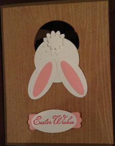 Front of Easter Card