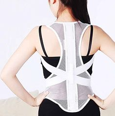 b02344beb418f JORZILANO Adult Humpback Correction Therapy Belt Shoulder Brace Correct of  the Spine Fixation for Posture Back Support Women