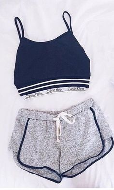 Sporty Outfits – Page 7966433537 – Lady Dress Designs Cute Lazy Outfits, Teenage Outfits, Teen Fashion Outfits, Sporty Outfits, Mode Outfits, Outfits For Teens, Trendy Outfits, Girl Outfits, Summer Outfits
