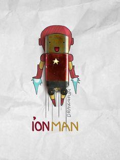 Artista vietnamita crea superhéroes de Marvel con objetos cotidianos12