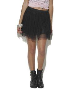Tulle Ballet Mini Skirt - WetSeal