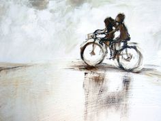 South African Etsy Shop Ride with me ART PRINT Gift for teachers by AlidaBothmaArt on Etsy, $25.00