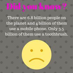 #technology is great, but so is #dentalhygiene #interesting #gross #priorities #lol Dental Hygiene, Priorities, Did You Know, Lol, Technology, Instagram Posts, Tech, Tecnologia, Fun