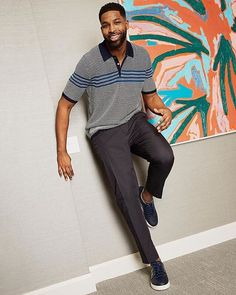 @realtristan13 is always dressed to impress when he walks from the bus to the locker room—like with this @ferragamo look. Photo by @KeithEMorrison for @GQ and #GQxNeimanMarcus. Link in bio to shop.