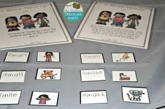 S Blends Literacy Centers and Printables
