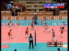 Amazing Chinese volleyball rally [video] - Holy Kaw!