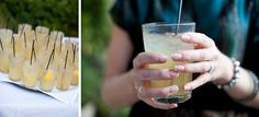yummy beverages, by J Nelson Photography | Fly Away Bride