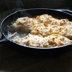 : Chicken Parmesan Skillet Pot Pie | Food | Pinterest | Pot Pies ...