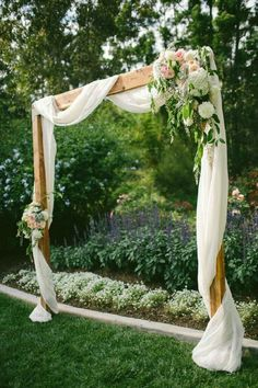 Rustic Wedding Altars 25 Chic And Easy Rustic Wedding Arch Ideas For Diy Brides. Rustic Wedding Altars 25 Chic And Easy Rustic Wedding Arch Ideas For Diy Brides. Simple Wedding Arch, Wedding Arch Rustic, Wedding Altars, Simple Weddings, Diy Wedding, Wedding Ceremony, Wedding Ideas, Perfect Wedding, Trendy Wedding