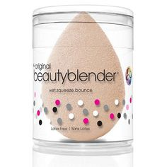 "Beautyblender | Camera Ready Cosmetics Perfect the #IWokeUpThisWay look with new Beautyblender nude. The ultimate foundation application tool was created in a nude shade to celebrate flawless, natural-looking skin. Beautyblender nude is the perfect choice for applying your makeup and defining your natural beauty to get that ""no makeup"" makeup look. Makeup never felt so nude!"