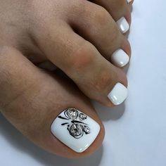 50 Beautiful Nail Art Designs & Ideas Nails have for long been a vital measurement of beauty and Pretty Toe Nails, Cute Toe Nails, Sexy Nails, Hot Nails, Fancy Nails, Gorgeous Nails, Trendy Nails, Yellow Toe Nails, Toe Nail Color