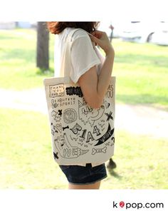 K2POP - B1A4 OFFICIAL GOODS : ECO BAG