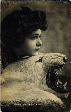 "Evelyn Nesbit ""Beauty and The Beast"""