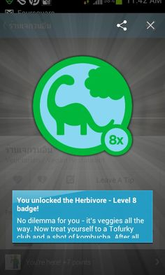 Herbivore level According to I'm like Buddha and a Triceratops All The Way, Treat Yourself, Apps, Messages, Level 8, Buddha, App, Appliques
