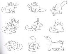 Как нарисовать кота Саймона