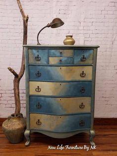 Whimsical Painted Furniture, Diy Furniture Decor, Furniture Update, Chalk Paint Furniture, Hand Painted Furniture, Funky Furniture, Repurposed Furniture, Shabby Chic Furniture, Furniture Projects