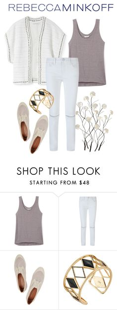 """""""RM"""" by marianabaez ❤ liked on Polyvore featuring Rebecca Minkoff, Universal Lighting and Decor, women's clothing, women, female, woman, misses, juniors, contestentry and seebuywear"""