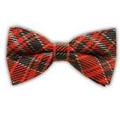 English Plaid - Apple Red (Bow Ties) from TheTieBar.com - Wear Your Good Tie Everyday