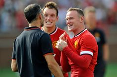 Manchester United Real Madrid: Van Gaal's men set up Liverpool clash in Champions Cup Final Anthony Jones, Phil Jones, Manchester United 2014, 1 Real, Wayne Rooney, Man Set, Man United, Real Madrid, Liverpool