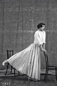 Kim Yu Na is Featured on Vogue Korea | Koogle TV