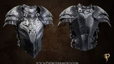 Artorias Cuirass and Pauldrons Preview by =Azmal on deviantART