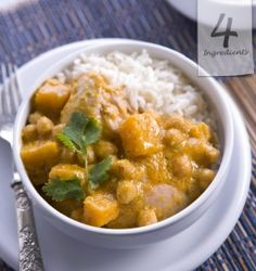 A delish combo to warm the hearts and homes of the world :o) Simply hit the pin to learn how? Gluten Free Cooking, Cooking Recipes, Food Dishes, Main Dishes, Chicken Pumpkin, Chickpea Curry, Canned Chickpeas, 4 Ingredients, Fall Recipes