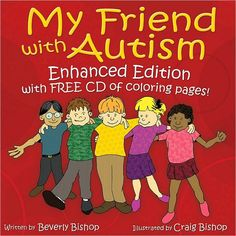 The exceptional result of Beverly Bishop's effort to educate her son's classmates about autism, thus helping her son fit in at school. A peer narrator explains that his friend w/ autism is good at some things and not so good at others—just like everyone else! In an informative, positive tone, he addresses autism issues such as 'sensory sensitivity' &  'communication differences.' At the end of the book Notes for Adults, w/ facts & explanations to further educate teachers & classmates'…