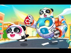 Little Panda Green Guard | Children Learn To Clean Up The City | Educati...