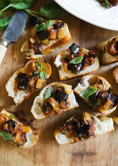 Must Try Sicilian Caponata   The Clever Carrot Veggie Dishes, Tasty Dishes, Veggie Recipes, Eggplant Salad, Eggplant Dishes, Sicilian Caponata Recipe, Italian Diet, Bread Salad, Food Words