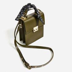 CROSSBODY BAG WITH SCARF DETAIL from Zara | Architect's Fashion