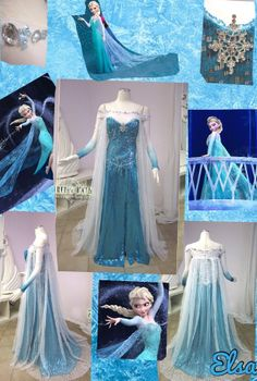 Elsa's frozen dress-SIGN ME UP. WHERE DO I FIND THIS??????????