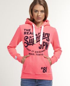 Superdry Keep It Hoodie - Women's Hoodies