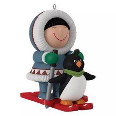 Frosty Little Friends Mini Ornament